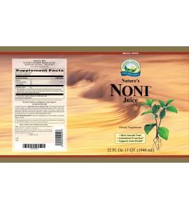 Nature's Noni (Two-32 fl. oz. bottles) label
