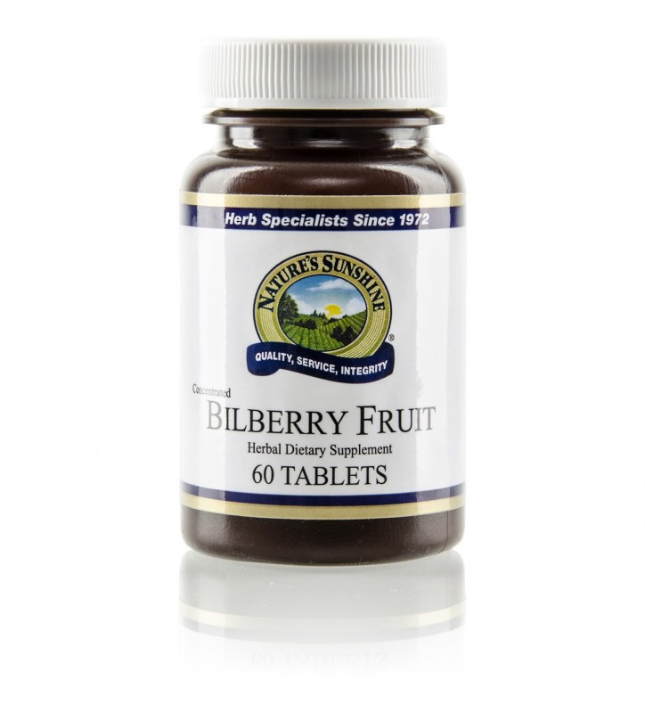 Bilberry Fruit Conc. (60 Tabs)