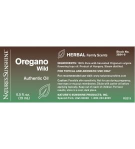 Oregano, Wild Essential Oil (15 ml)