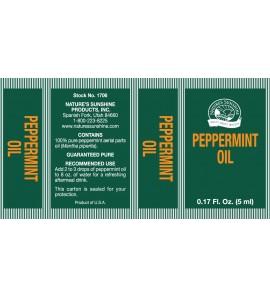 Peppermint Oil (0.17 fl. oz.)