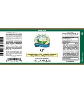 SF® (100 Caps) label