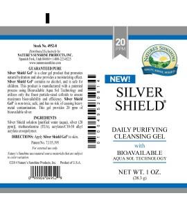 Silver Shield Gel (20 Ppm) (1 oz. Tube)