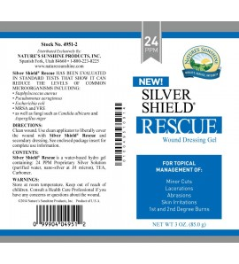 Silver Shield Rescue Gel (24 Ppm) (1 oz. Tube)