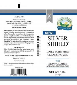 Silver Shield Gel (20 Ppm) (3 oz. Tube)