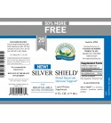 Silver Shield w/Aqua Sol (20 Ppm) (6 fl. oz.) label