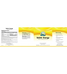 Solstic Energy (30 packets) label