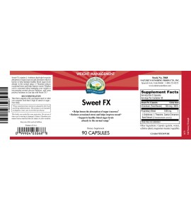 Sweet FX™ (90 Caps) label